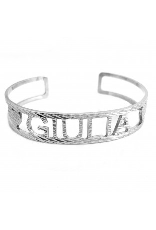 Bracciale Bangle Diamantato...
