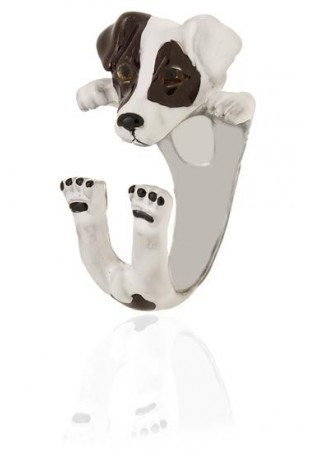 Anello Cane - Jack Russell