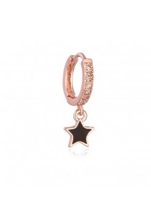 Orecchino zircon Star...